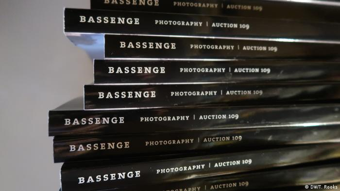 Auction catalogs at Galerie Bassenge in Berlin - photo by Timothy A. Rooks