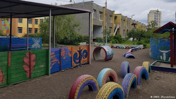 Ukraine Kiew   Coronavirus   Kindergarten, geschlossen