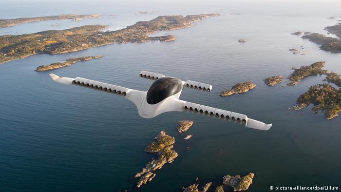 Primele taxiuri aeriene electrice există deja