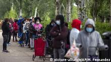 Spanien Barcelona Armut und Coronavirus