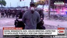 USA Minneapolis Polizei nimmt CNN Reporter fest