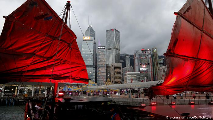 China: Skyline in Hongkong (picture -alliance/D. Mcintyre)
