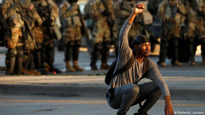 USA, Minneapolis: Proteste um den Tod George Floyds (Reuters/L. Jackson)