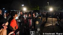 USA Washington   Tod George Floyd durch Polizeigewalt in Minneapolis   Protest
