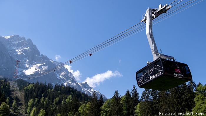 Zugspitze Cable car (picture-alliance/dpa/S. Hoppe)