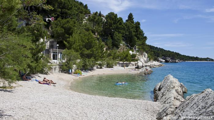 Croatia | Beach at Scit (picture-alliance/imageBROKER)
