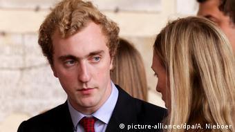 Бельгийский принц Йоахим, второй сын принцессы Астрид Бельгийской и эрцгерцога Лоренца Австрийского-Эсте