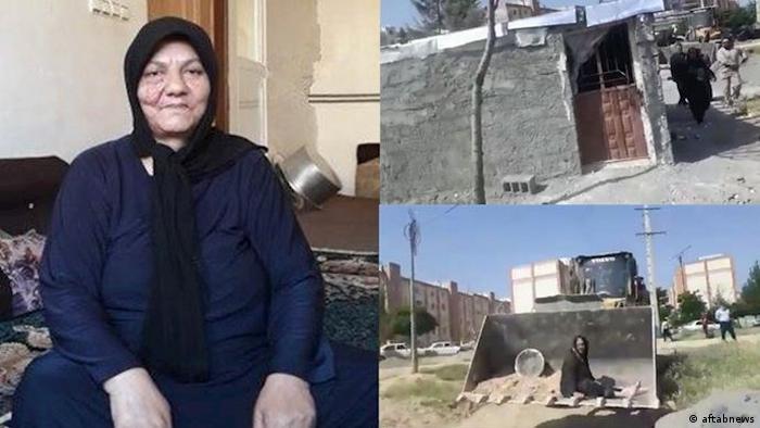 Iran   Asieh Panahi starb nach der Zerstörung ihres Hauses durch Beamten der Stadt Kermanshah
