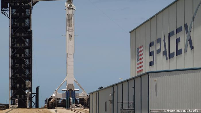 Foto simbólica de instalaciones de Space X