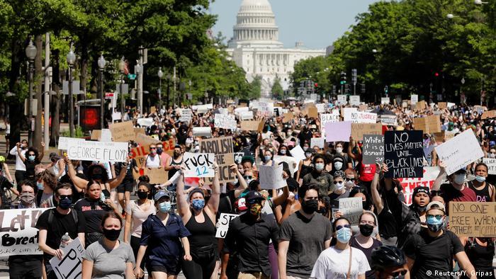 Марш протестувальників у Вашингтоні