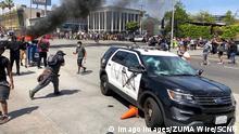USA Los Angeles Proteste nach dem Tod von George Floyd in Minneapolis