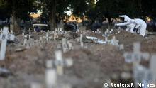 Brasilien Coronaviurs in Rio de Janeiro | Friedhof