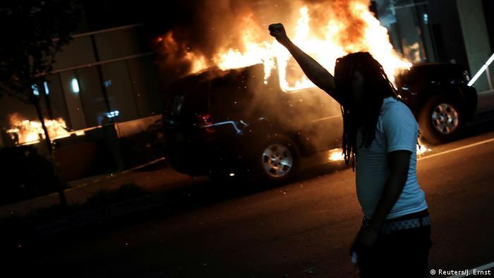 USA Washington | Tod George Floyd durch Polizeigewalt in Minneapolis | Protest (Reuters/J. Ernst)