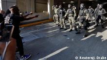 USA Raleigh   Tod George Floyd durch Polizeigewalt in Minneapolis   Protest