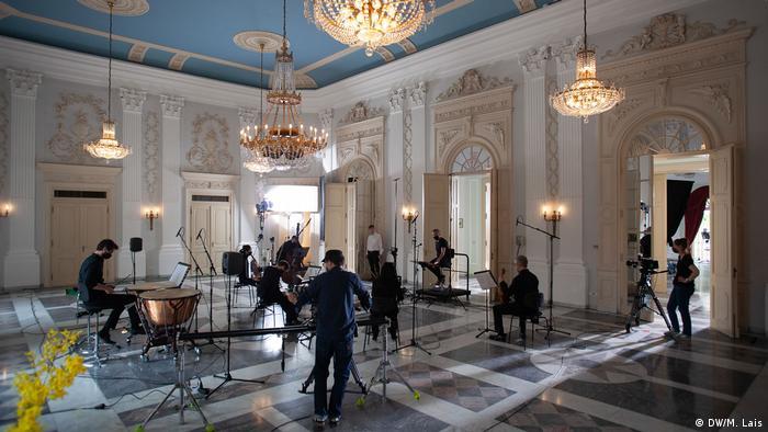 Репетиции в зале Редут