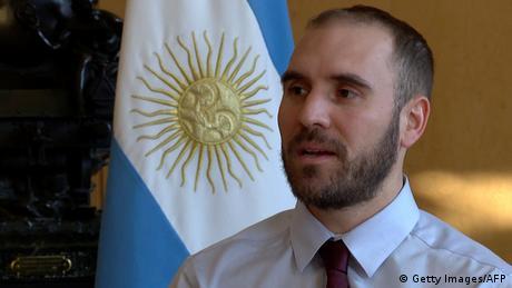 El ministro argentino de Economía, Martín Guzmán.