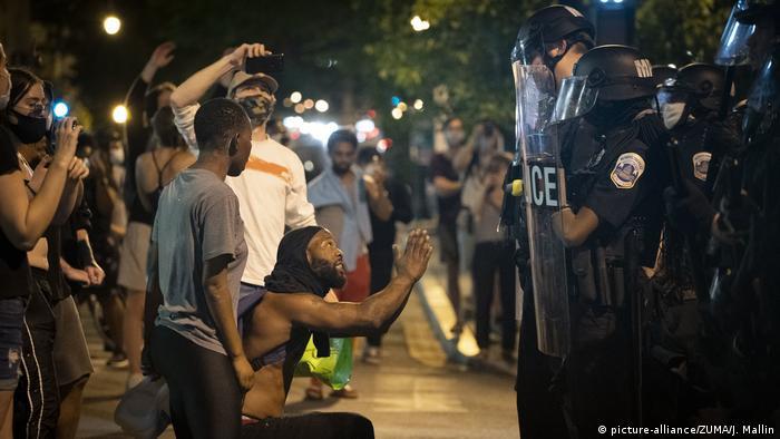 Протести у США через вбивство Джорджа Флойда