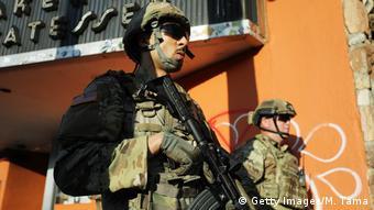 Бойцы Национальной гвардии США