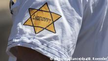 Deutschland Bayern verbietet Gelben Stern auf Corona Demos