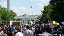 USA Washington vor dem Weißen Haus | Proteste nach dem Tod von George Floyd