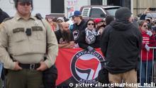 USA Shelbyville Antifa Demonstranten