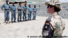 Afghanistan Deutsche Polizisten trainieren afghanische Kollegen in Feisabad