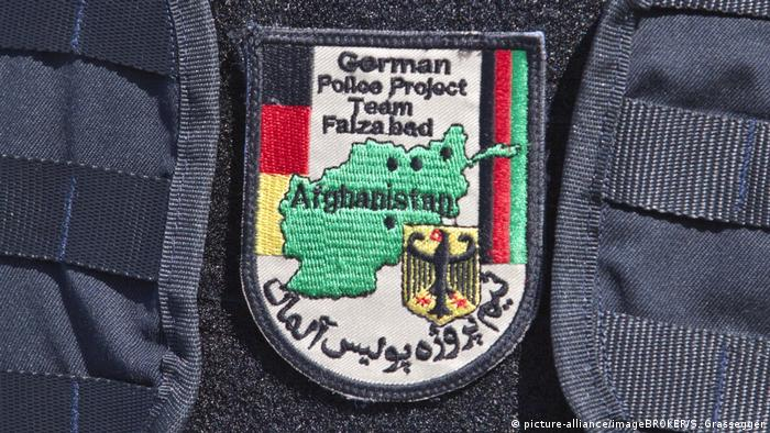 Abzeichen der Bundespolizei in Afghanistan German Police Project Team (picture-alliance/imageBROKER/S. Grassegger)