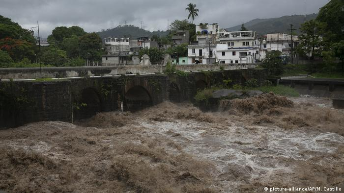 Guatemala Hochwasser nach tropischem Sturm Amanda