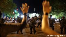 USA Proteste gegen Polizeigewalt / Tod von George Floyd