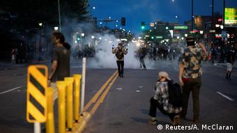 USA Proteste gegen Polizeigewalt / Tod von George Floyd (Reuters/A. McClaran)