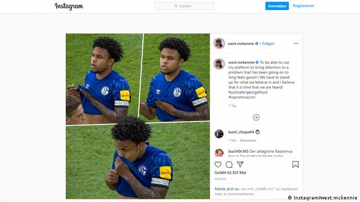 Weston McKennie on Instagram