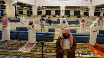 В мечети в Эр-Рияде