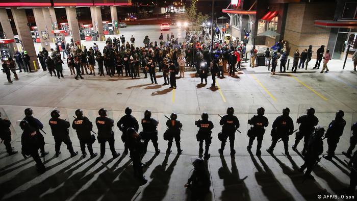 USA Proteste gegen Rassismus und Polizeigewalt 2014 (AFP/S. Olson)