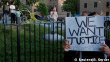 USA Boston | Proteste gegen Polizeigewalt und Tod von George Floyd