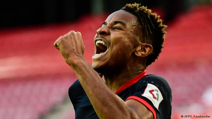 RB Leipzig's Christopher Nkunku is facing the side he left in 2019.