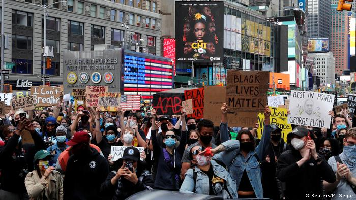 New York City protests for George Floyd