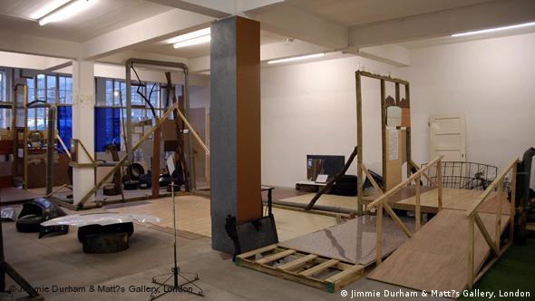 Инсталляция Джимми Дерхэма