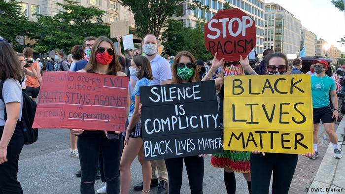 USA Washington DC Proteste nach dem Tod von George Floyd | Black Lives Matter