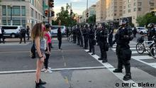 USA Washington DC | Proteste nach dem Tod von George Floyd | Black Lives Matter