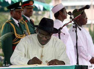 Goodluck Jonathan (Bild: AP)