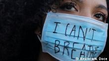Spanien Barcelona | Polizeigewalt | Proteste gegen Rassismus
