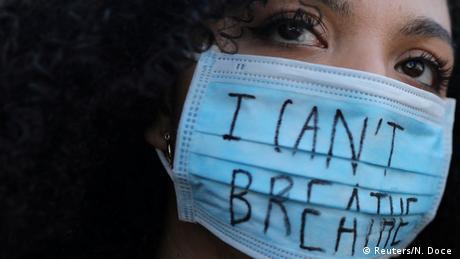 Spanien Barcelona | Polizeigewalt | Proteste gegen Rassismus (Reuters/N. Doce )