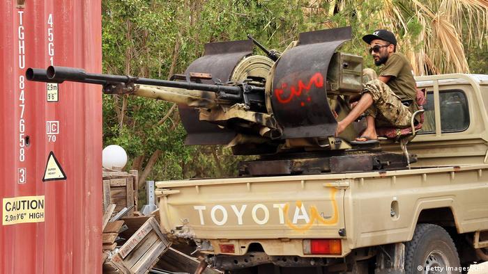 Військовий, що воює за міжнародно визнаний уряд Лівії