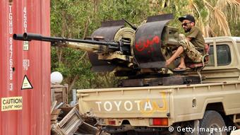Libyen Krieg |Kämpfer der Libyan Government of National Accord