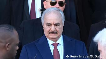 Ο Χαφτάρ έχει τη στήριξη της Ρωσίας, της Αιγύπτου και των Ηνωμένων Αραβικών Εμιράτων