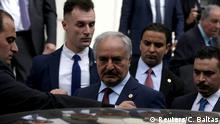 Griechenland Athen |Libyen Krieg |General Chalifa Haftar