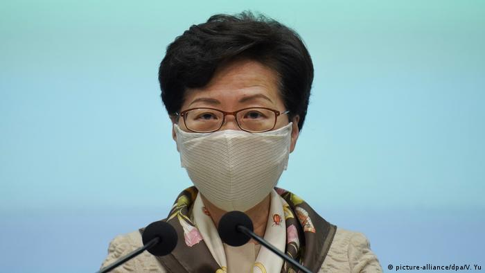 Hongkong Carrie Lam (picture-alliance/dpa/V. Yu)