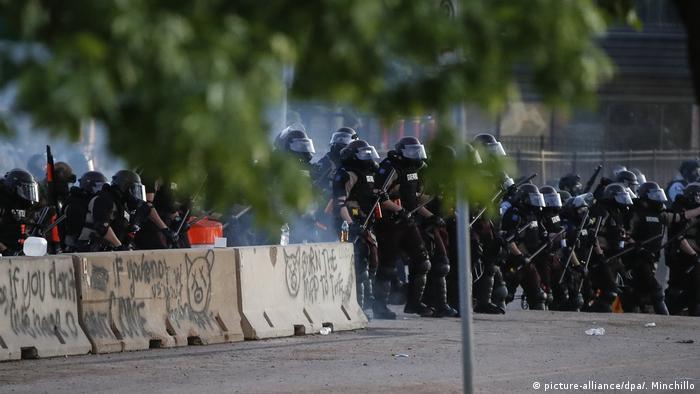 USA St. Paul| Proteste | George Floyd
