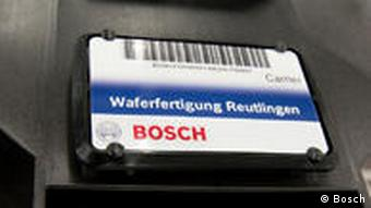 Bosch wafer production