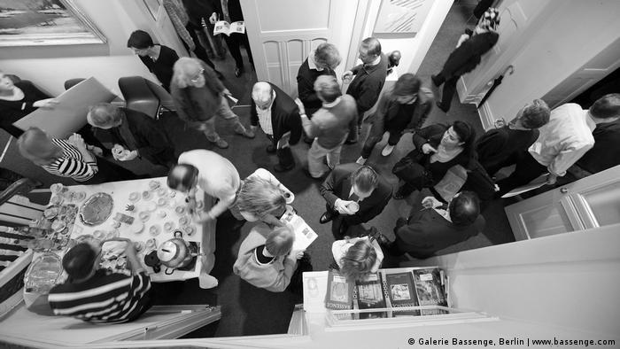 An auction break at Galerie Bassenge, Berlin (www.bassenge.com)